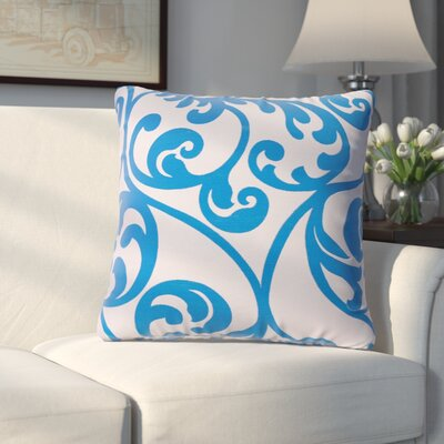 Chalfont Throw Pillow Color: Cobalt