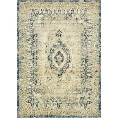 Jae Eclectic Beige Area Rug Rug Size: Rectangle 5 x 8