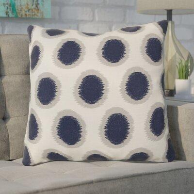 Mcelhaney Linen Throw Pillow Color: Blue