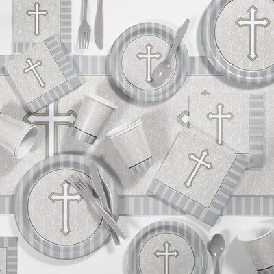 Devotion Plastic Appetizer/Dinner Plate DTC2543C2R