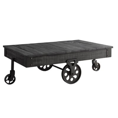 Choncey Coffee Table Color: Black