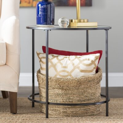 Casanova End Table Color: Black