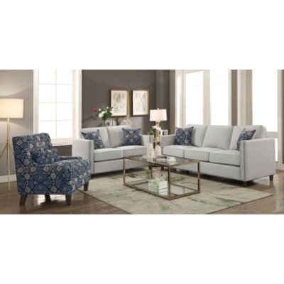 Ortensia 2 Piece Living Room Set