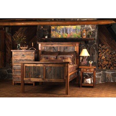 Estela Panel Bedroom Set Color: Bronze, Size: Full