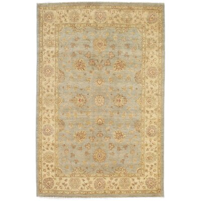 Friedrick Hand-Knotted Wool Gray/Ivory Area Rug