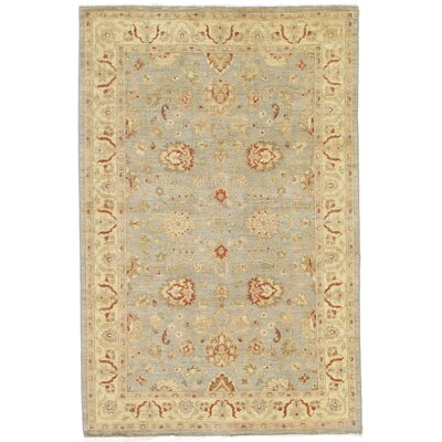 Dowding Hand-Knotted Wool Gray/Ivory Area Rug