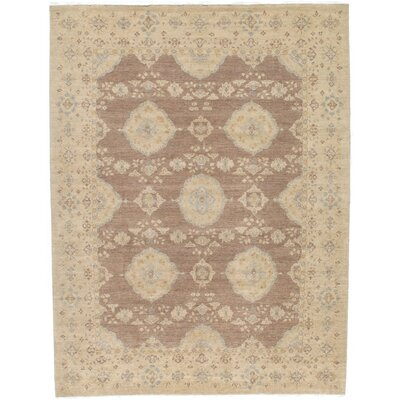 Fritzi Hand-Knotted Wool Beige/Brown Area Rug
