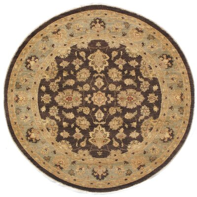 Dowless Hand-Knotted Wool Brown/Gray Area Rug