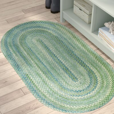 Celise Sea Monster Green Area Rug Rug Size: Oval 23 x 4