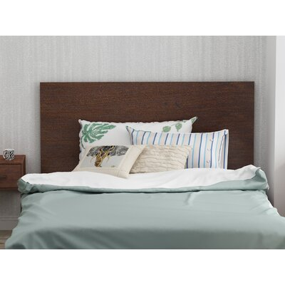 Sherita Panel Headboard Size: Full/Queen, Color: Cherry