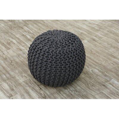 Eldora Pouf Upholstery: Gray