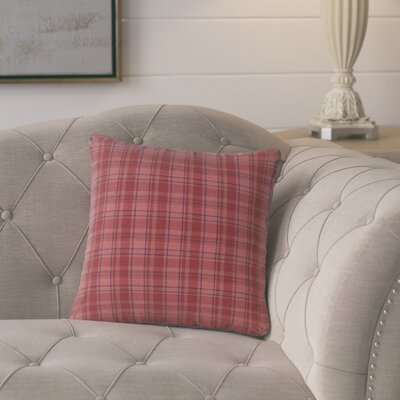 Lorena Square 100% Cotton Throw Pillow