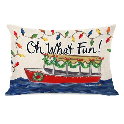 Kempton Oh What Fun Duffy Lumbar Pillow