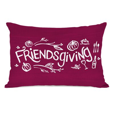 Friendsgiving Lumbar Pillow