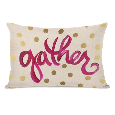 Gather Dots Lumbar Pillow