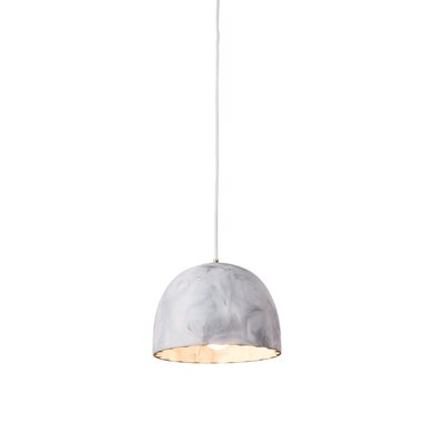 Doric 1-Light Mini Pendant Finish: Matte White