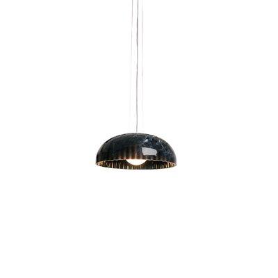 Doric 1-Light Inverted Pendant Finish: Polished Black
