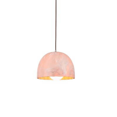 Doric 1-Light Mini Pendant Finish: Matte Rose