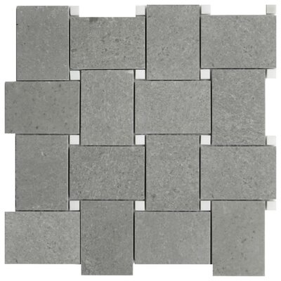 Cirella 2 x 4 Porcelain Mosaic Tile in Gray