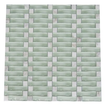 Frascati Glass Mosaic Tile in White
