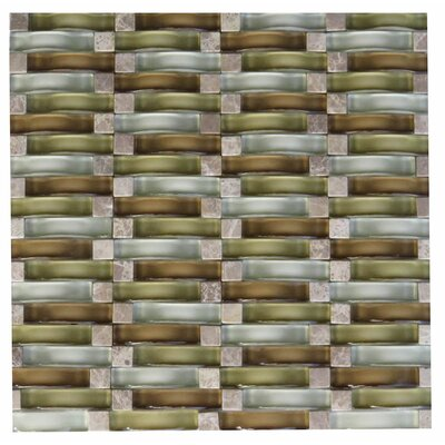 Frascati Glass Mosaic Tile in Brown