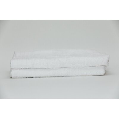 Ferro Classic Rayon from Bamboo Bath Sheet Color: White