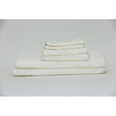 Fetzer Classic Rayon from Bamboo 6 Piece Towel Set Color: Ivory
