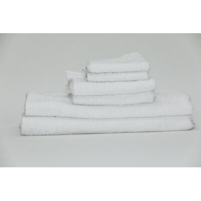 Fetzer Classic Rayon from Bamboo 6 Piece Towel Set Color: White