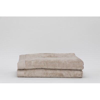 Fetter Classic Cotton Bath Sheet Color: Linen
