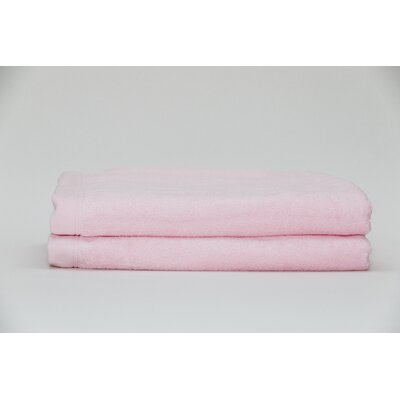 Fetter Classic Cotton Bath Sheet Color: Pink