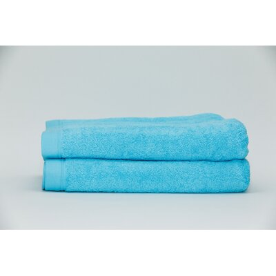 Fetter Classic Cotton Bath Sheet Color: Aqua