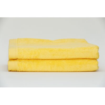 Fetter Classic Cotton Bath Sheet Color: Sunshine