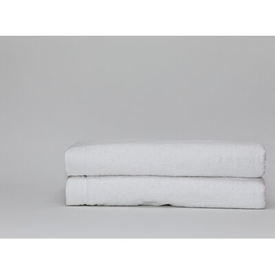 Fetter Classic Cotton Bath Sheet Color: White