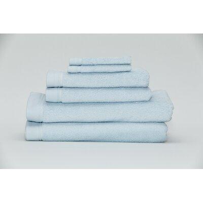 Festa Classic Cotton 6 Piece Towel Set Color: Water