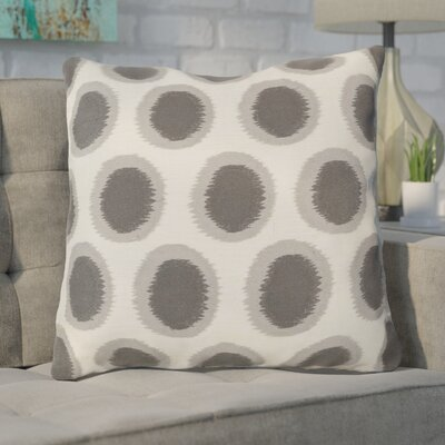 Mcelhaney Throw Pillow Color: Gray