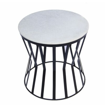 Dansby Elegant Iron End Table