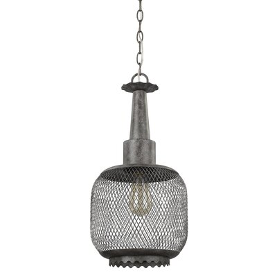 Gustav 1-Light Globe Pendant