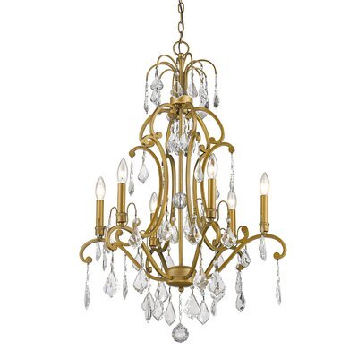 Manorhaven 6-Light Candle-Style Chandelier
