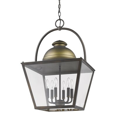 Samarth Indoor 6-Light Lantern Pendant