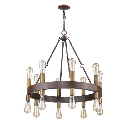 Amia 16-Light Candle-Style Chandelier