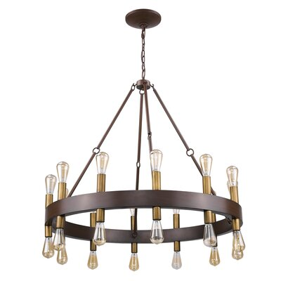 Amia 24-Light Candle-Style Chandelier