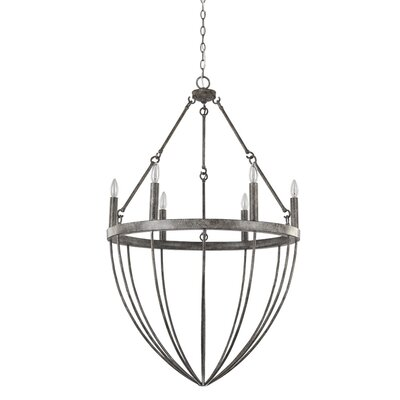 Burhall 6-Light Candle-Style Chandelier