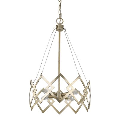 Hassett 4-Light Candle-Style Chandelier