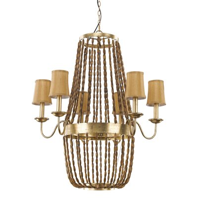 Marcia 6-Light Candle-Style Chandelier