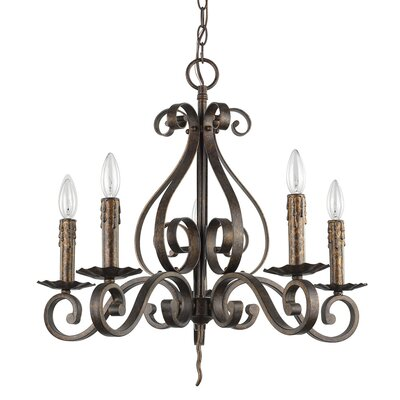 Hendrickson 5-Light Candle-Style Chandelier
