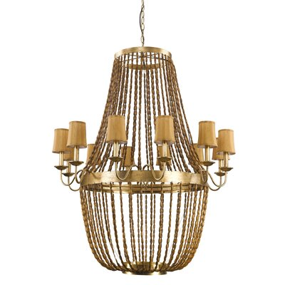Marcia 12-Light Candle-Style Chandelier