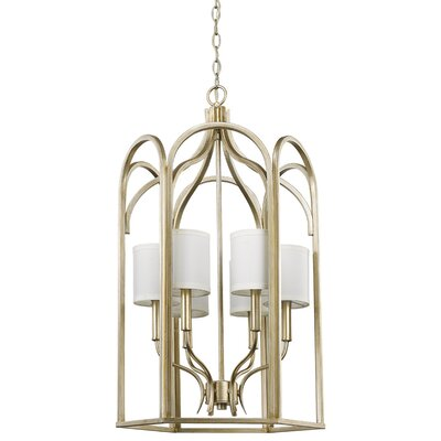 Marini 6-Light Foyer Pendant Size: 45 H x 25 W x 25 D