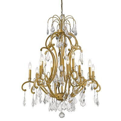 Manorhaven 12-Light Candle-Style Chandelier