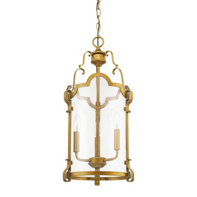 Marie 3-Light Foyer Pendant
