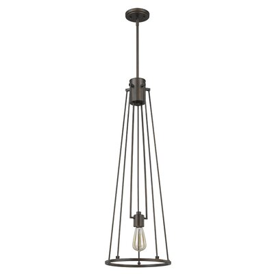 Hattaway 1-Light Mini Pendant Finish: Polished Nickel